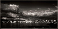 Vancouver English Bay sunset skyline with clouds sfx PH2552b -3031--40