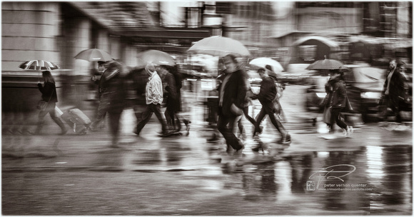 PH2574a  folio Life is a Blur rainy street crossing -0195--7