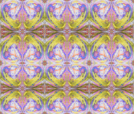 Vibrant Ink Design Tiled yellow violet swirls with golden Tiled ID0033d 25x21@300 sml zf