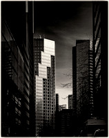 Vancouver Foto Grafika - street canyon - highrise PH2540b -0083--6